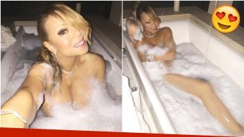 Las fotos súper hot de Maria Carey desde la ducha (Fotos: Instagram)