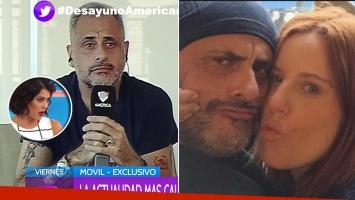 Jorge Rial habló sobre su relación con Agustina Kämpfer.