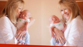 Soledad Silveyra reveló el exótico nombre de su nieto recién nacido (Foto: Twitter)