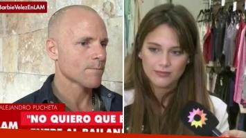 Alejandro Pucheta no quiere que su hija, Barby Vélez, vaya al Bailando. (Foto: TV)