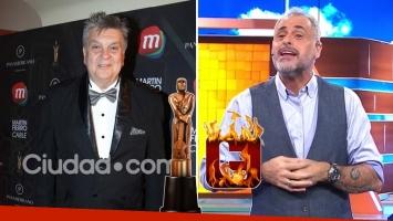 Luis Ventura habló de los picantes tweets de Jorge Rial durante los Martín Fierro de Cable 2016. (Foto: Ciudad.com y TV)