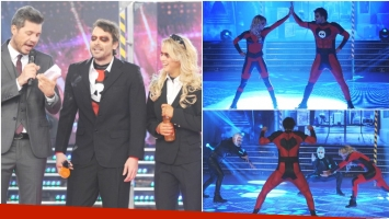 Pedro Alfonso y Flor Vigna la rompieron con el ritmo libre de ShowMatch (Fotos: Prensa Ideas del Sur)