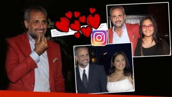 Jorge Rial y un tierno mensaje para Rocío por su cumple (Foto: web e Instagram)