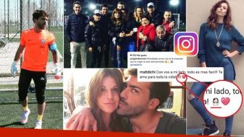 Juliana Giambroni y Matías Di Chiara, cruce de mensajes románticos en las redes sociales (Foto: Instagram)
