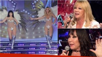 Sabrina Rojas homenajeó a Moria y Susana en el ritmo libre de ShowMatch