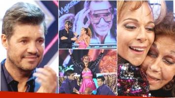 Iliana Calabró y el baile que emocionó a todos en ShowMatch (Fotos: Prensa Ideas del Sur y Captura)