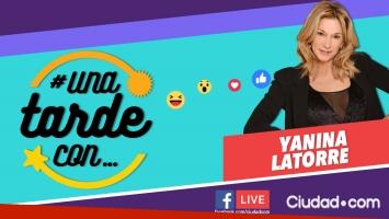Yanina Latorre en #UnaTardeCon vía Facebook Live.