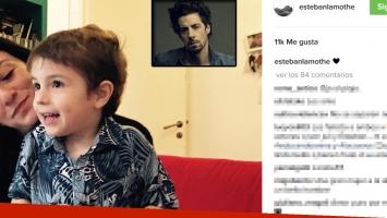 La foto de Esteban Lamothe en Instagram, en medio de rumores.
