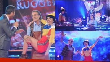 Oscar y Cande Ruggeri emocionaron con su ritmo libre en ShowMatch. Foto: Ideas del sur