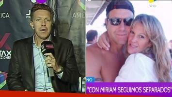 Fantino habló de su fuerte crisis matrimonial con Miriam Lanzoni