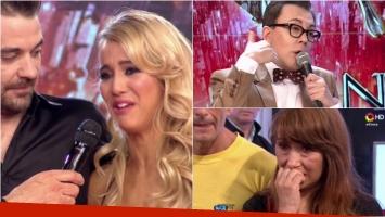 El llanto de Flor Vigna por una picante frase de Marcelo Polino en ShowMatch. Foto: Captura