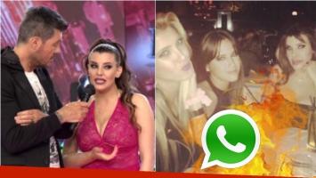 Charlotte Caniggia contó en ShowMatch por qué bloqueó a Barbie Vélez y Cande Ruggeri de WhatsApp. Foto: Captura/ Ideas del Sur