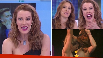 Miriam Lanzoni bromeó sobre la presunta bisexualidad de Alejandro Fantino
