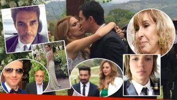El look de los famosos en el casamiento de Isabel Macedo y Juan Manuel Urtubey (Foto: redes sociales)