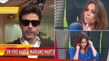 Mariano Martínez llamó a Infama enojado por un rumor.