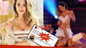 Belén Francese llegó a ser noticia en el sitio TMZ! por un blooper hot de 2011. Foto: Web.