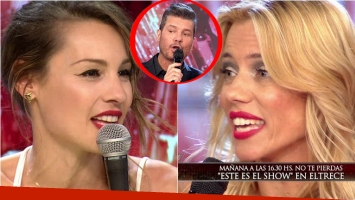 Nicole Neumann vs Pampita en ShowMatch.