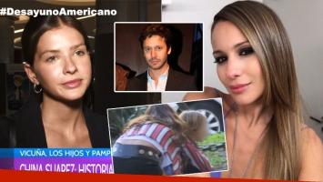 China Suárez, tras la declaración de Pampita sobre el vínculo de la actriz con sus hijos