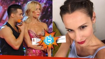 Nicole y un contundente tweet tras su escandaloso cruce con Pampita (Foto: Ideas del Sur y Twitter)