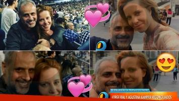 Rial y Kämpfer, enamorados en Madrid tras la reconciliación (Foto: web