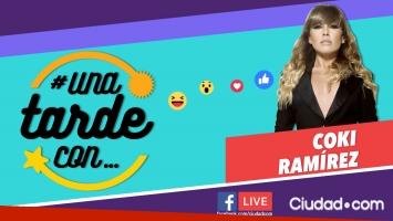 Coki Ramírez en #UnaTardeCon por Facebook Live.