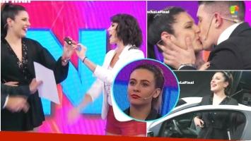 Ivana Icardi se ganó el 0KM en El Debate La Revancha (Fotos: Captura)