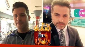 José María Listorti y Angel de Brito se sacaron chispas en Twitter. (Foto: Twitter)