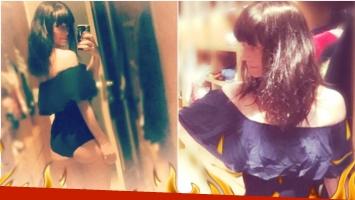 La foto sexy de Griselda Siciliani en Instagram tras su separación (Fotos: Instagram)