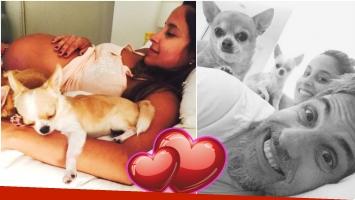 La tierna foto de Lourdes Sánchez embarazada y sus días a dos meses de dar a luz (Fotos: Instagram)