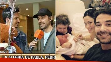 Pedro Alfonso habló con Este es el Show tras el nacimiento de su hijo Baltazar