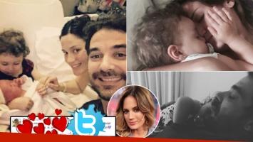 Paula Chaves y su primer tweet tras dar a luz a Baltazar (Foto: Instagram y Twitter)