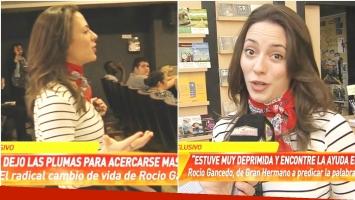 La nueva vide de Rocío Gancedo y una sorpresiva declaración sobre su futuro sentimental (Fotos: Captura)