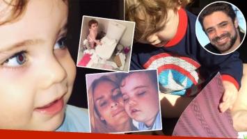 Los tiernos videos del hijo de Sabrina Rojas y Luciano Castro (Foto: Instagram)