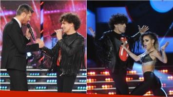 Favio Posca deslumbró ShowMatch con su rock. Foto: Ideas del sur