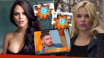 Barbie y Nazarena Vélez tras las picantes declaraciones de Federico Bal en Intrusos (Foto: web y Twitter)