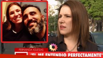 Fernanda Iglesias habló de su relación con su marido tras denunciarlo por violencia de género (Foto: web)