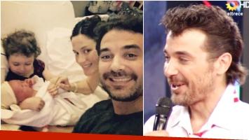 Pedro Alfonso habló de la llegada de su segundo hijo Baltazar en ShowMatch (Fotos: Instagram y Captura)