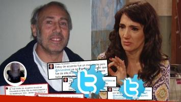 Gustavo Yankelevich se enojó con una de las autoras de Educando a Nina y defendió a Aruzzi tras su mal chiste (Foto: web y Twitter)