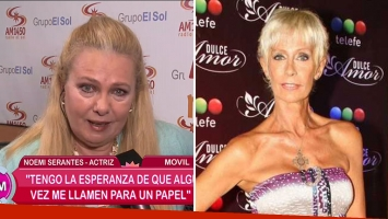 Noemí Serantes habló de la salud de su amiga María Valenzuela. Foto: Web
