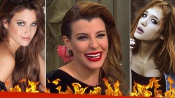 Charlotte Caniggia apuntó contra Barbie Vélez y Ángela Torres