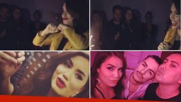 El festejo de cumple de Lali Espósito con amigos. Fotos: Instagram.