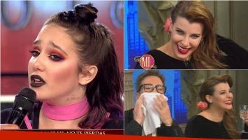 Ángela Torres salió al cruce en ShowMatch de las ironías de Charlotte Caniggia
