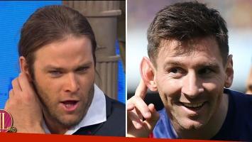 La asombrosa imitación de Benjamín Amadeo de Lionel Messi