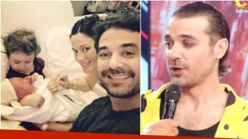 Pedro Alfonso habló de su nueva vida en ShowMatch tras la llegada de su segundo hijo Baltazar (Fotos: Instagram y Captura)