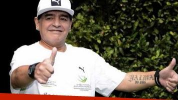 Maradona firmó un acuerdo exclusivo para lanzar una serie de TV sobre su vida