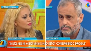 La pregunta sin anestesia de Jorge Rial que descolocó a María Eugenia Ritó: