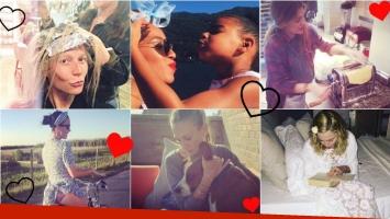 La intimidad de las celebrities de Hollywood en Instagram. Foto: Instagram