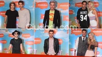 Los famosos en los KCA Argentina 2016. Fotos: Movilpress.