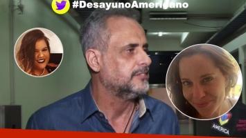 Jorge Rial habló de la operación de Morena Rial y su amor con Agustina Kämpfer