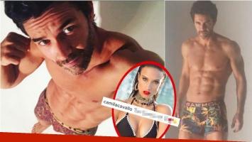 Mariano Martínez, súper sexy y a puro abdominal en una producción hot. Foto: Instagram